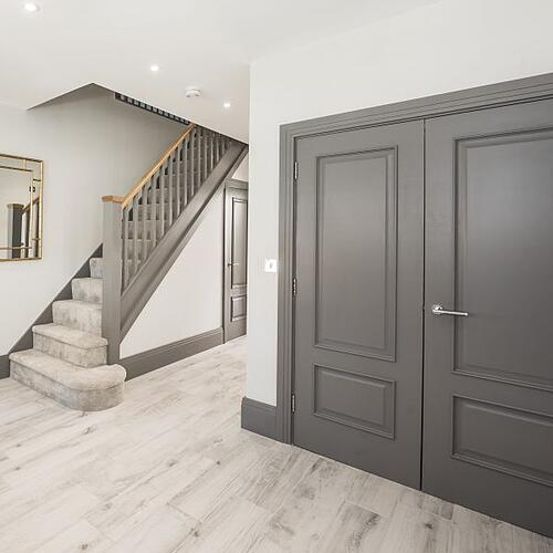 Grey Bespoke Internal Wooden Doors